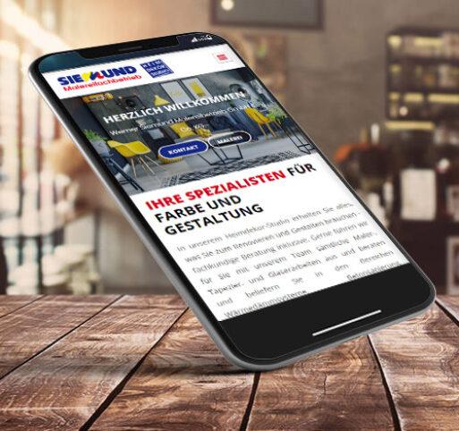 Handy Internetseiten Erstellung